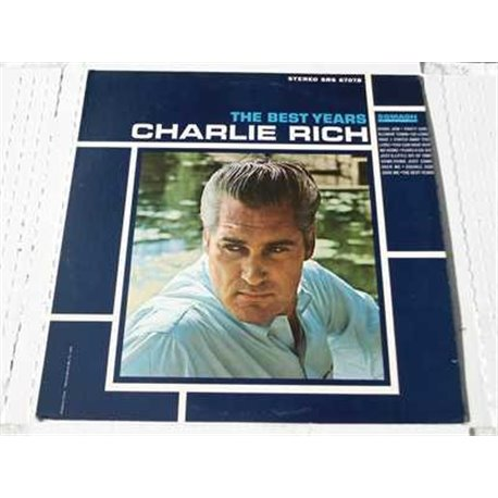 Charlie Rich, The Best Years Vinyl LP Record For Sale