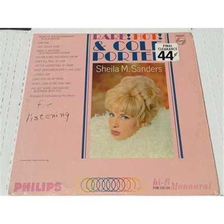 Sheila M Sanders - Rare Hot And Cole Porter Vinyl LP For Sale