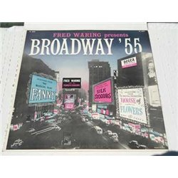 Fred Waring - Broadway 55 Rare Vinyl LP Record For Sale