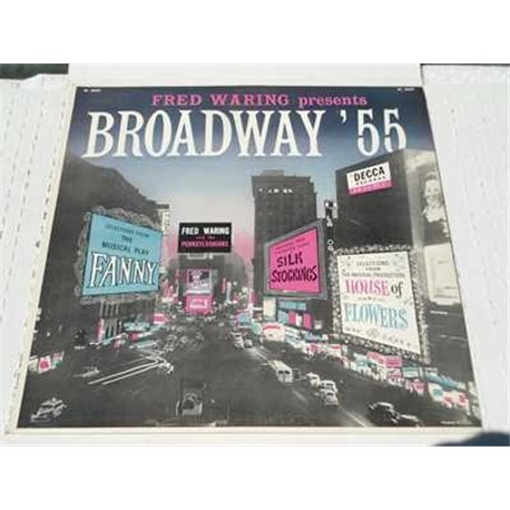 Fred Waring - Broadway 55 Vinyl LP Record For Sale