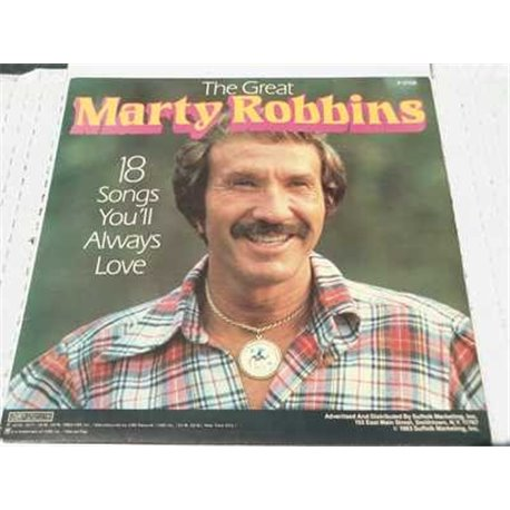 Marty Robbins - The Great Marty Robbins Vinyl LP For Sale