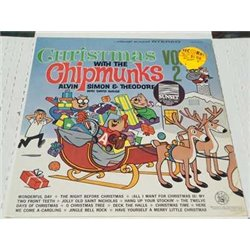 The Chipmunks - Christmas With The Chipmunks Vol 2 LP For Sale