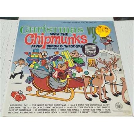 The Chipmunks - Christmas With The Chipmunks Vinyl LP For Sale