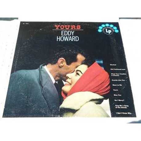 Eddy Howard - Yours Vinyl LP Record For Sale