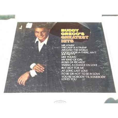 Buddy Greco's Greatest Hits Vinyl LP bRecor For Sale