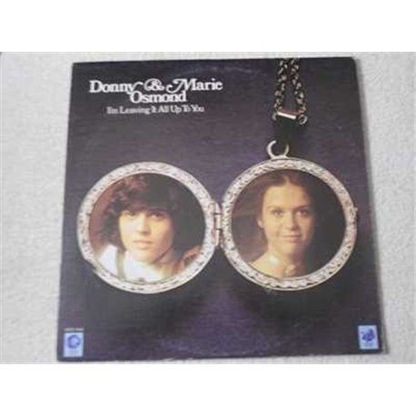 Donnie And Marie Osmond - Im Leaving It All Up To You LP For Sale