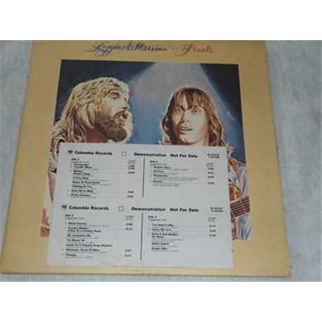 Loggins and Messina - Finale Vinyl LP Record For Sale