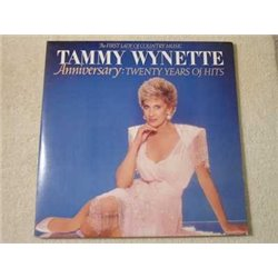 Tammy Wynette - Anniversary: Twenty Years Of Hits 2xLP Vinyl Record For Sale
