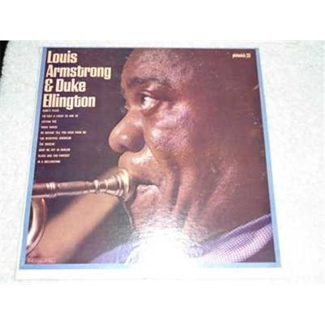 Louis Armstrong & Duke Ellington - Self Titled Vinyl LP For Sale