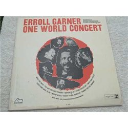 Erroll Garner - One World Concert Vinyl LP For Sale