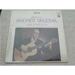Andres Segovia - A Bach Recital Vinyl LP Record For Sale