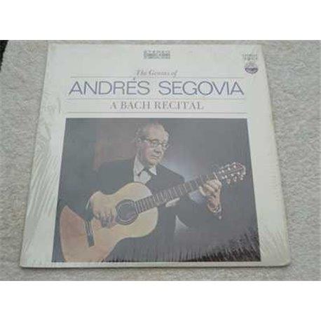 Andres Segovia - A Bach Recital Vinyl LP Record For Sale