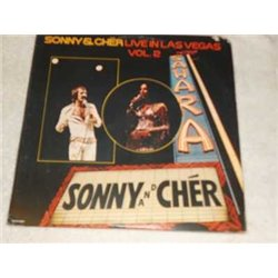 Sonny & Cher- Live In Las Vagas Vol 2 Vinyl 2x LP Vinyl Record Set For Sale