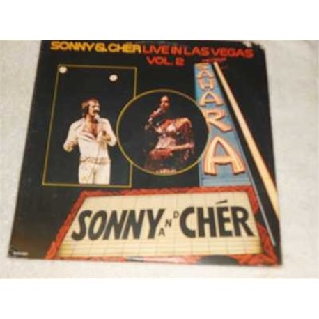 Sonny & Cher- Live In Las Vagas Vol 2 Vinyl 2x LP Set For Sale