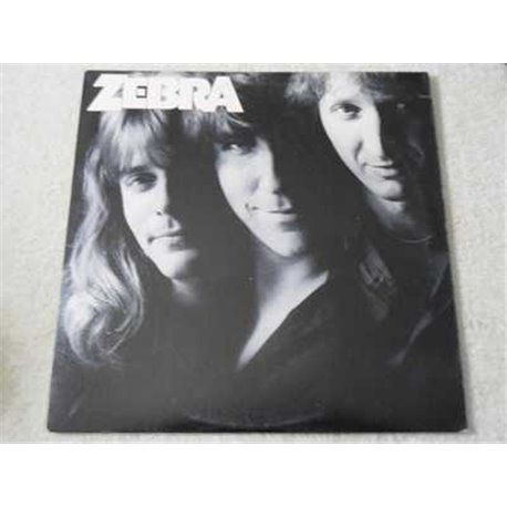 Zebra - Self Titled Vinyl LP Record For Sale