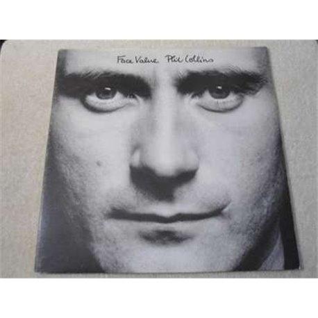 Phil Collins Face Value LP Vinyl Record