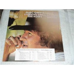 Mac Davis - Stop And Smell The Roses Vinyl LP For Sale