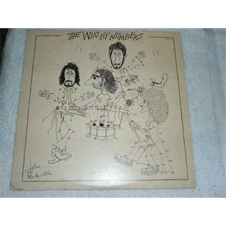 The Who - By Numbers Vinyl LP Record For Sale