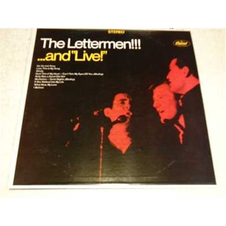 The Lettermen - And Live Vinyl Record For Sale