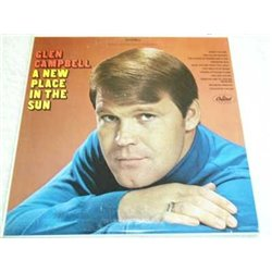 Glen Campbell - A New Place In The Sun LP For Sale