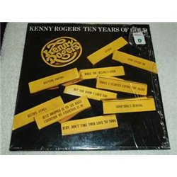 Kenny Rogers - Ten Years Of Gold Vinyl LP For Sale