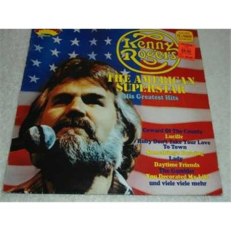 Kenny Rogers - The American Superstar Vinyl Lp For Sale
