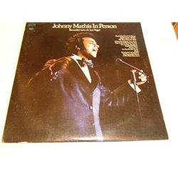 Johnny Mathis - In Person Vinyl LP Record For Sale