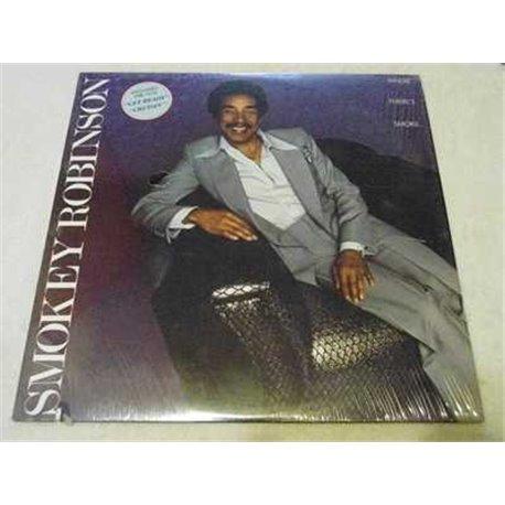Smokey Robinson - Where Theres Smoke Vinyl LP For sale
