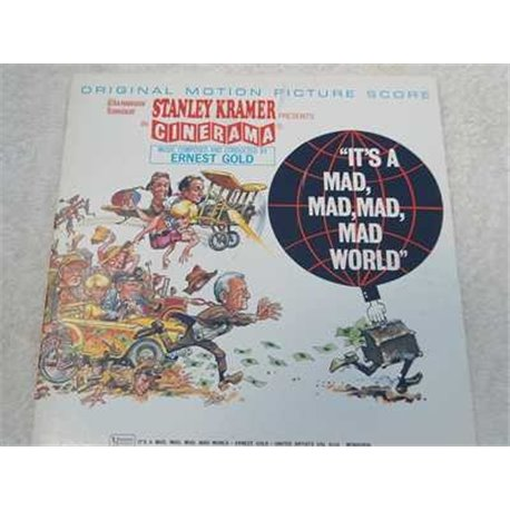 It A Mad Mad Mad Mad World Soundtrack Vinyl LP For Sale