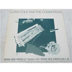 Lloyd Cole And The Commotions - Brand New Friend PROMO LP For Sale
