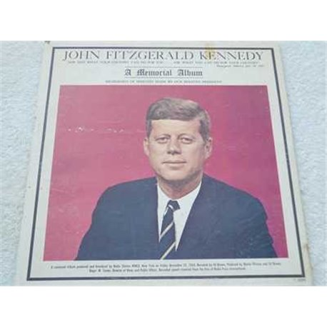 John F Kennedy - A Memorial Album Vinyl LP For Sale