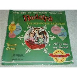 """Rudolph - The Red Nosed Reindeer 10"""" 78rpm Record"""