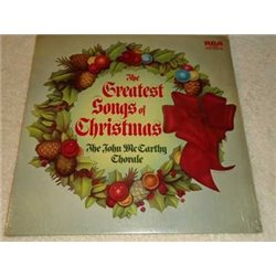The Greatest Songs Of Christmas - John McCarthy Choral Vinyl LP For Sale