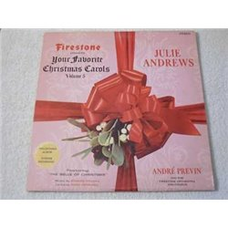 Julie Andrews - Christmas Carols Vinyl LP Record For Sale
