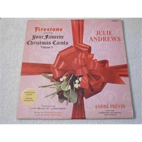 Julie Andrews - Christmas Carols Vinyl LP Record For Sale