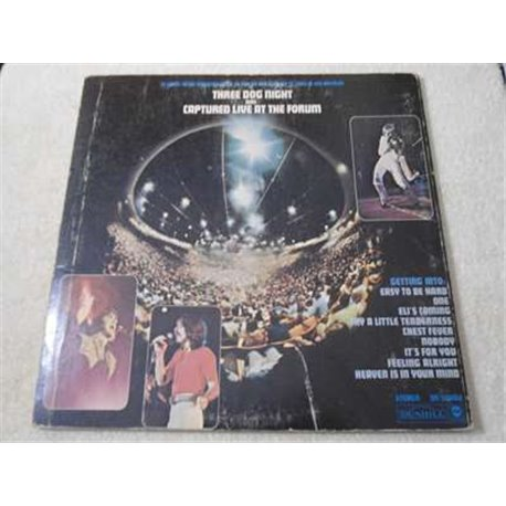 Three Dog Night - Captured Live At The Forum LP Vinyl Record