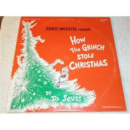 How The Grinch Stole Christmas Vintage Vinyl LP Record For Sale
