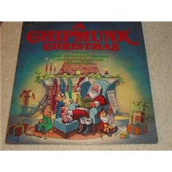 The Chipmunks - A Chipmunk Christmas Vinyl LP Record For Sale