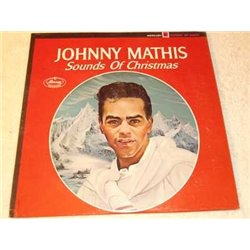 Johnny Mathis - Sounds Of Christmas Vinyl LP Record For Sale