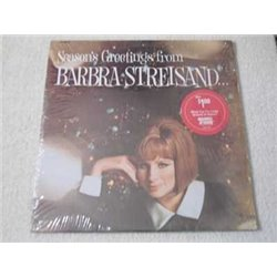 Barbra Streisand - Seasons Greetings - Christmas Vinyl LP For Sale