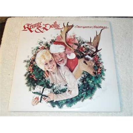 Kenny And Dolly - Once Upon A Christmas Vinyl LP Record For Sale