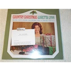 Loretta Lynn - Country Christmas Vinyl LP Record For Sale - 1973 Sealed