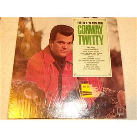 Conway Twitty - Fifteen Years Ago Vinyl LP Record For Sale