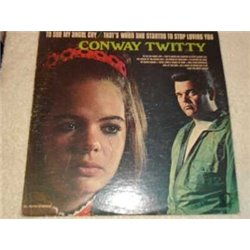 Conway Twitty - To See My Angel Cry Vinyl LP Record For Sale