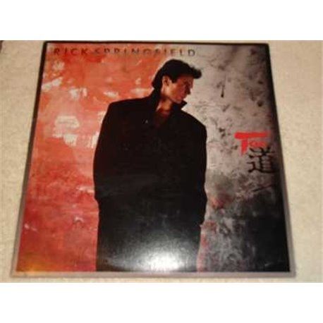 Rick Springfield - Tao Vinyl LP Record For Sale