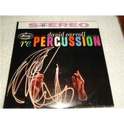 David Carroll - re PERCUSSION Vinyl LP Record For Sale