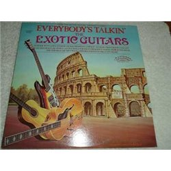 The Exotic Guitars - Everybodys Talkin Vinyl LP Record For Sale