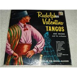 Rudolph Valentino Tangos - Jose Grande Vinyl LP Record For Sale