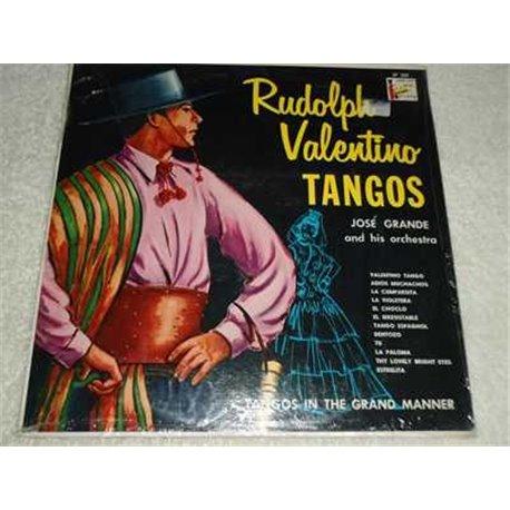 Rudolph Valentino Tangos - Jose Grande Vinyl LP Record For Sale