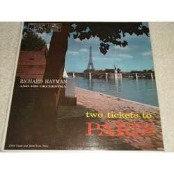 Richard Hayman - Two Tickets To Paris Vinyl LP Record For Sale
